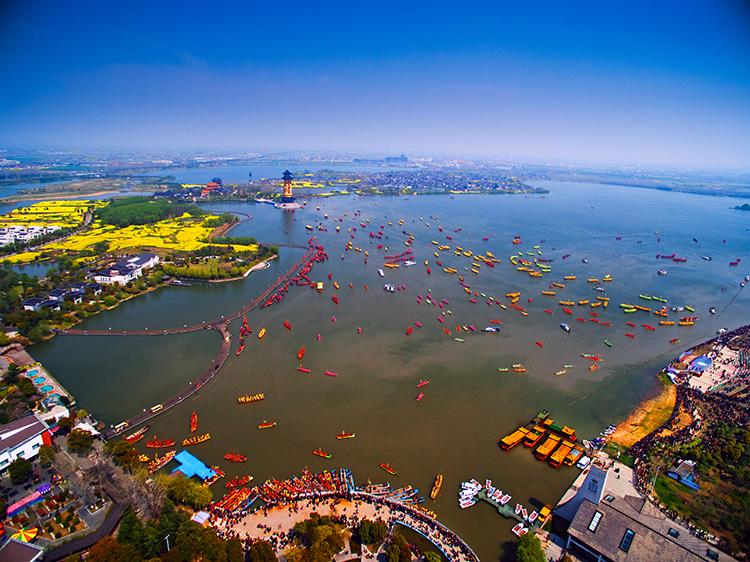 姜堰风景图片大全大图