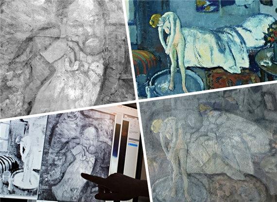 毕加索 画中画 图片合集图片