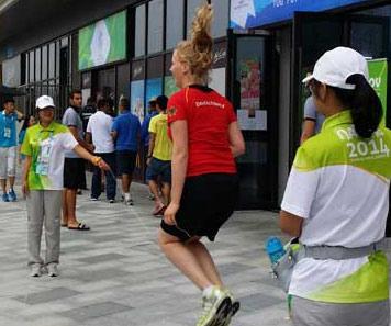 探訪青奧村:讓運動員在互動中感受綠色生活