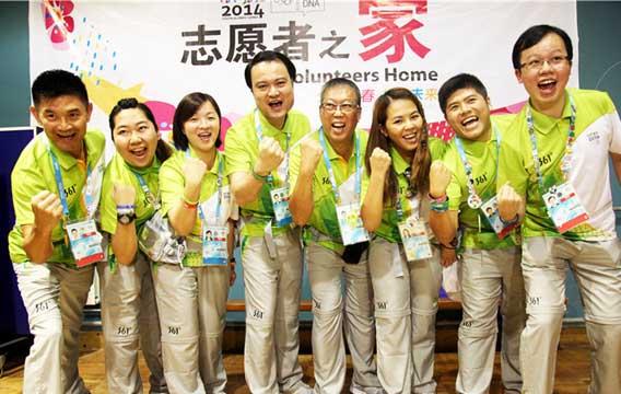 香港志愿者的南京青奥行:想要去坐绿皮火车