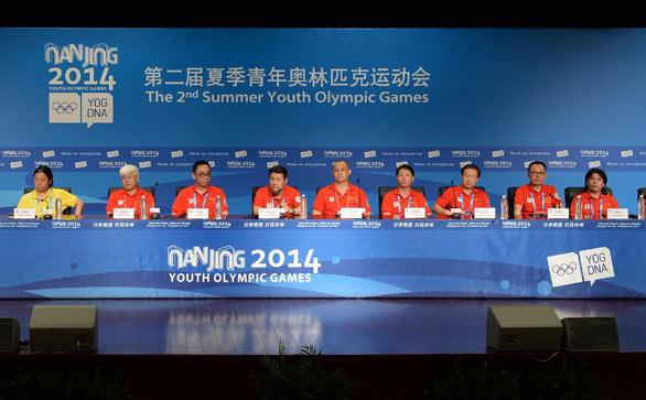 南京青奧會閉幕式新聞發布會舉行