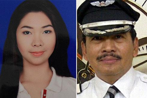 亚航失联航班部分机组人员和乘客照片被曝光