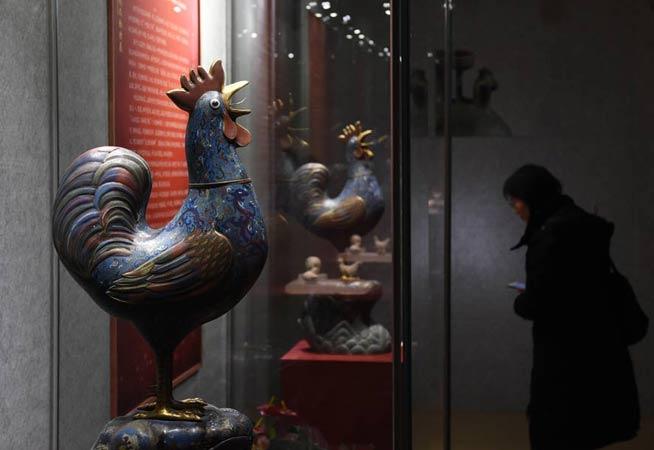 南京博物院舉辦雞文物展