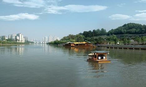 外秦淮河將截堵多條黑臭河排口降污