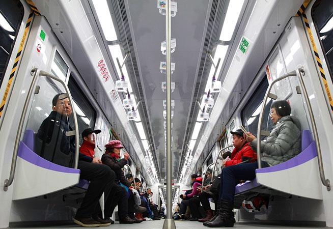 南京地鐵4號線開通試運行