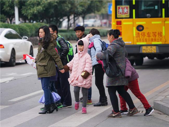 江蘇迎來大幅降溫天氣
