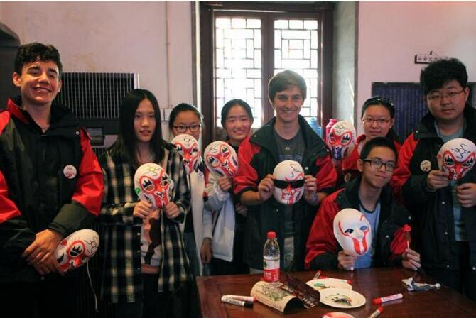 南京:中外學生體驗非遺