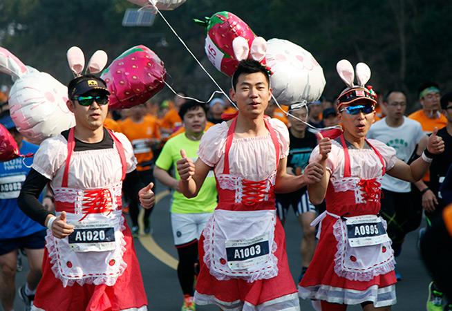 嗨翻2017南京溧水國際山地半程馬拉松賽,這些表情怎能錯過!