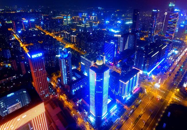 錦繡建鄴夜景新亮化 點亮城市中心