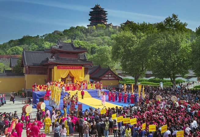 南京舉辦媽祖廟會