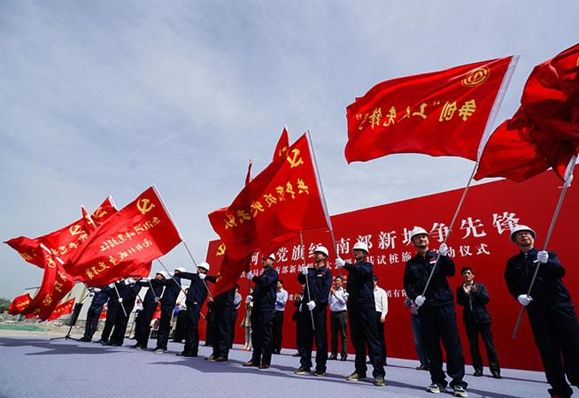 南京:南部新城紅花-機場南片區啟動軟基試樁