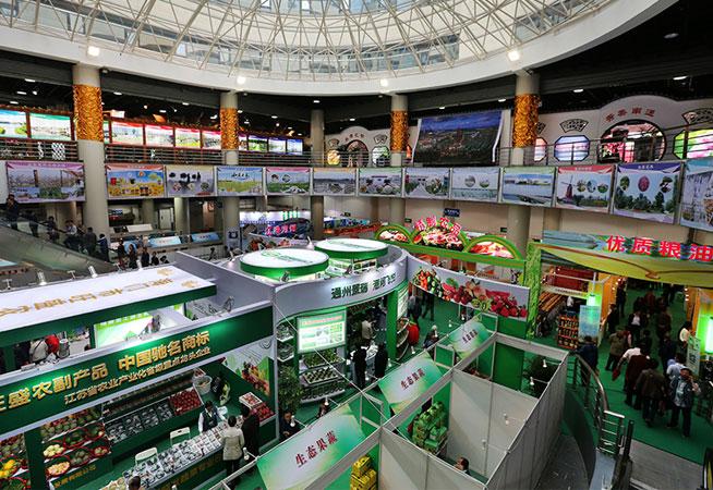 江蘇南通農産品上海展示展銷受熱捧