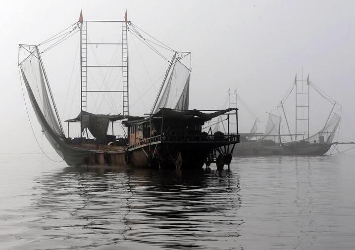 淮河江蘇段迎來罕見豐水期