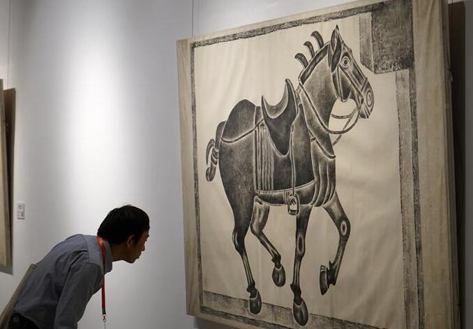 南京大學舉辦校藏金石拓片展 紀念建校115周年