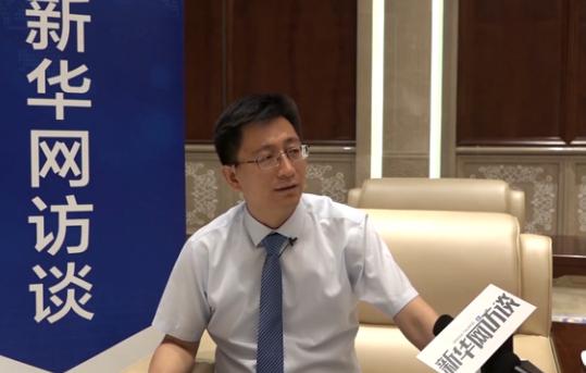 連雲港海州組織部部長林田海做客新華網訪談