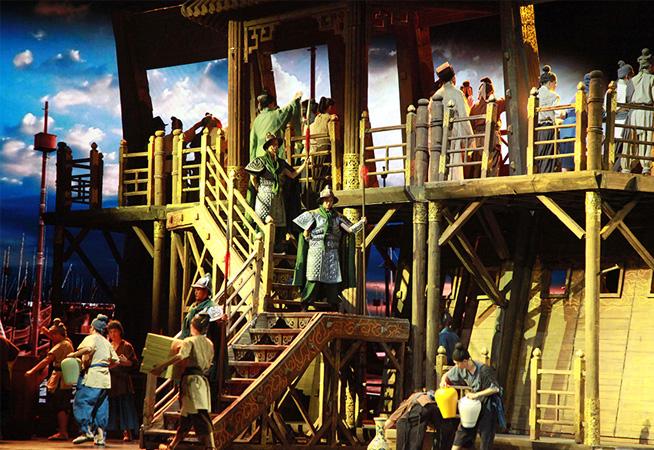 大型史詩歌劇《鄭和》獻禮世界海洋日