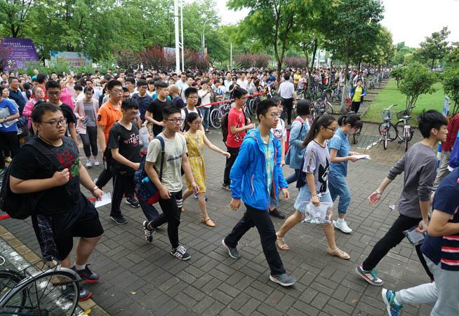 南京部分高校舉行自主招生測試