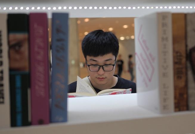 """重拾閱讀的情懷 南京首個""""交換圖書館""""亮相"""