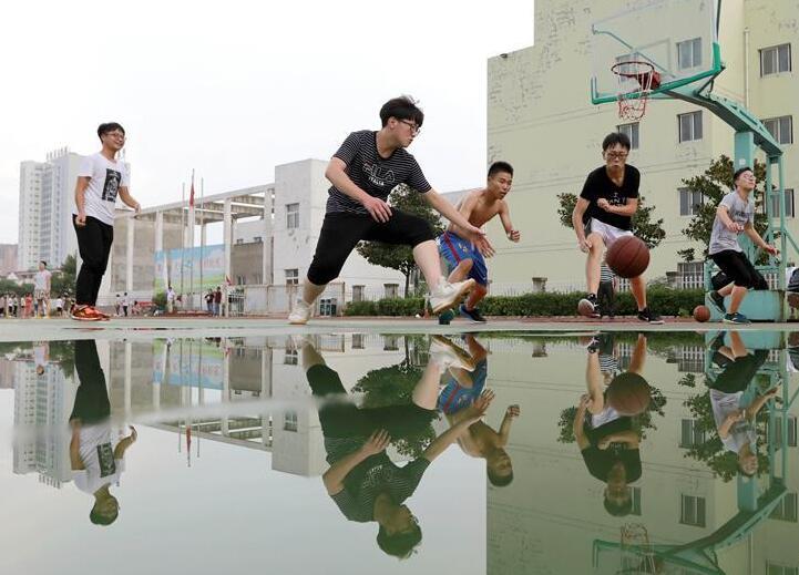 江蘇盱眙:暑期學校文體設施免費開放
