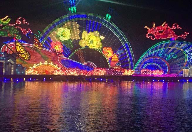 中秋燈會點亮美麗周莊