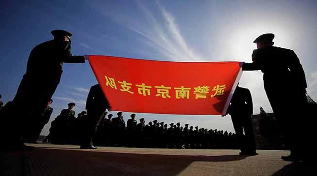 新兵授衔:300余名新兵步入新的旅程