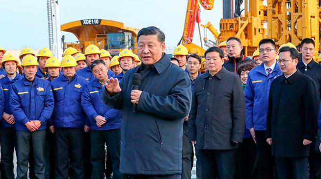 习近平在江苏徐州市考察