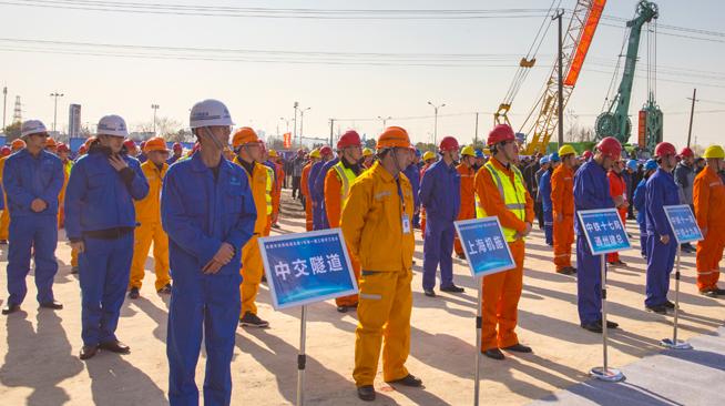 江苏南通首条地铁开工建设