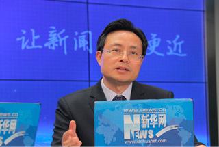 訪南京揚子國資投資集團董事長、黨委書記、總經理蔡龍