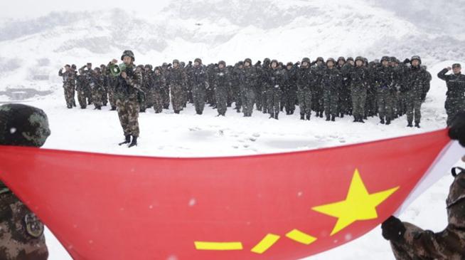 """武警南京支队""""魔鬼周""""极限训练打响新年开训第一枪"""