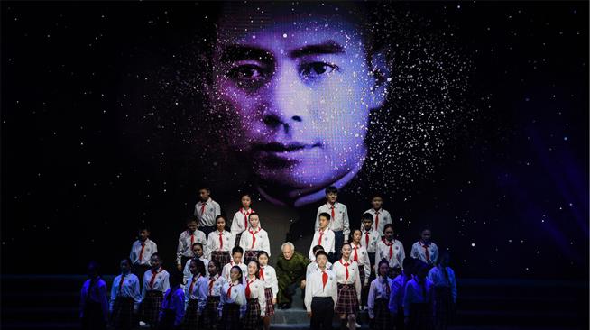 纪念周恩来诞辰120周年大型诗歌朗诵会在淮安举行