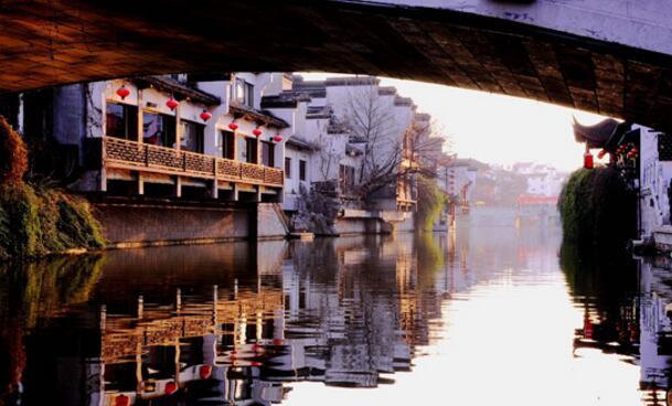 槳聲燈影裏的秦淮河