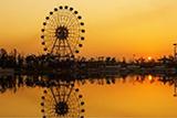 日出南山湖
