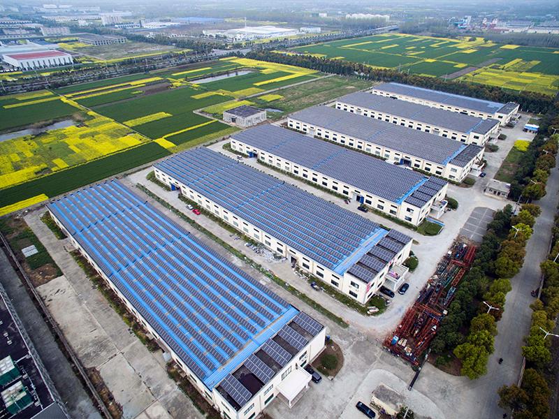 姜堰區華能新能源有限公司屋頂光伏發電站
