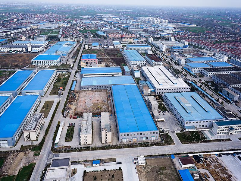 姜堰高新區全景圖
