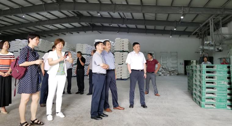 江蘇省物價局副局長孔祥平陪同國家發改委相關部門調研夏糧市場