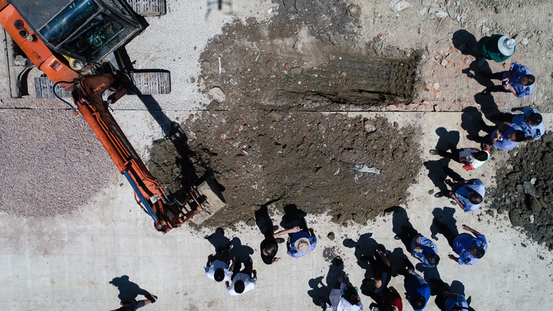 常州一工业园填埋化工废料被举报 相关嫌疑人已刑事拘留审查
