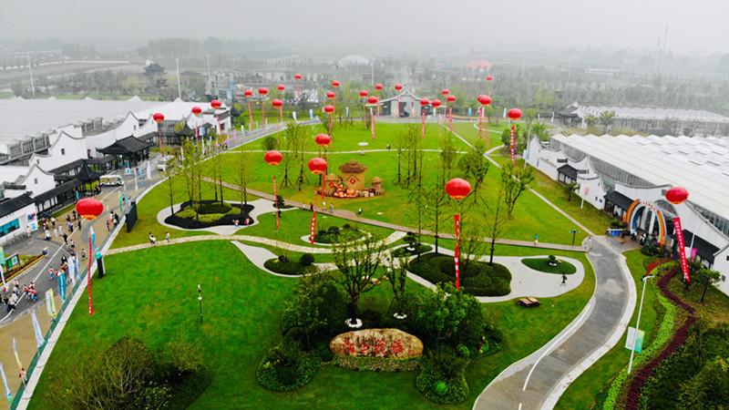 农民的节日 南京第十四届农业嘉年华在八卦洲启幕