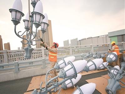 南京長江大橋修復進入收尾 預計12月底將恢復通車