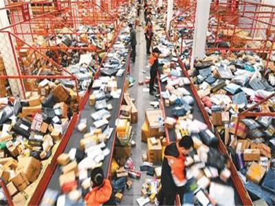 江蘇攬收快遞量約佔全國11.8% 預計本周三達到投遞高峰