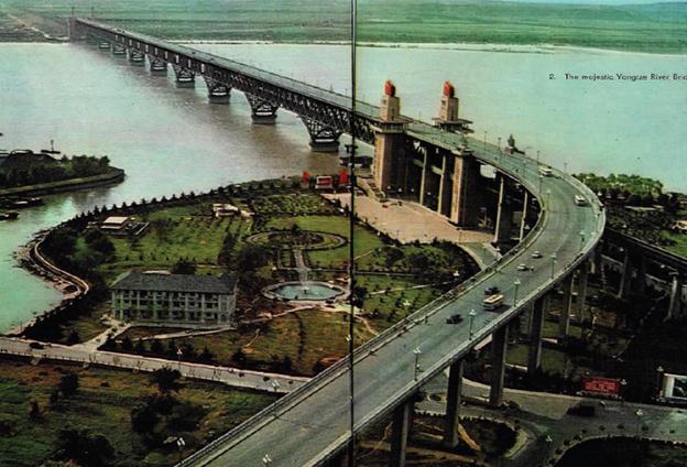 南京長江大橋傳承了中國傳統文化和傳統造橋工藝