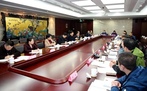 省市場監管局召開援助幫扶挂職幹部座談會