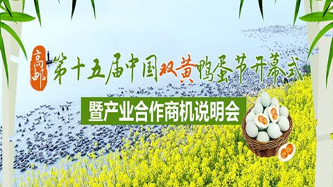 第十五屆中國雙黃鴨蛋節開幕式暨産業合作商機説明會