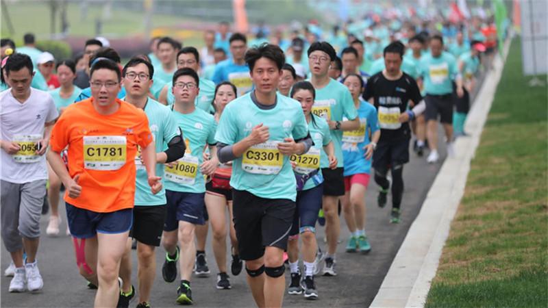 2019南京·江寧春牛首國際馬拉松火熱開跑