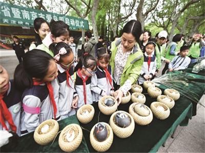 2019江蘇省暨南京市愛鳥周在紅山森林動物園舉行