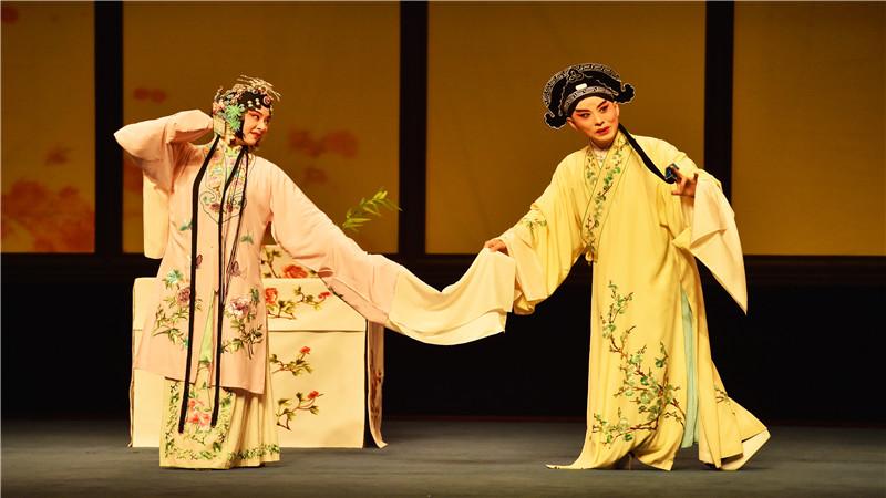 昆曲《牡丹亭》參加第29屆中國戲劇梅花獎現場競演