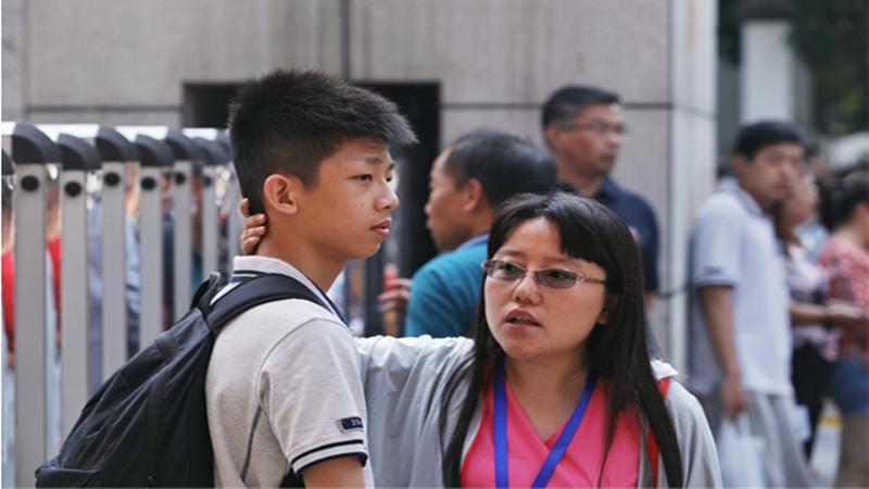 直擊南京中考丨為青春喝彩,為考生加油!