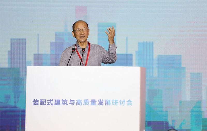 著名工程結構專家、中國工程院院士江歡成