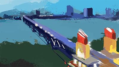 城市的變遷——南京長江大橋