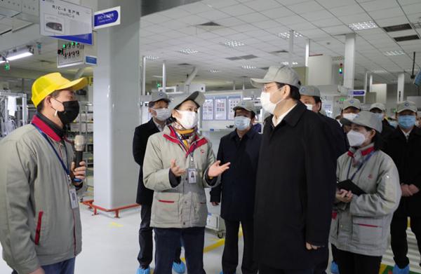 楊岳赴常州調研民營企業防疫及復工復産工作
