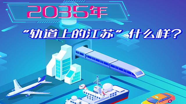 """2035年,""""軌道上的江蘇""""什麼樣?"""